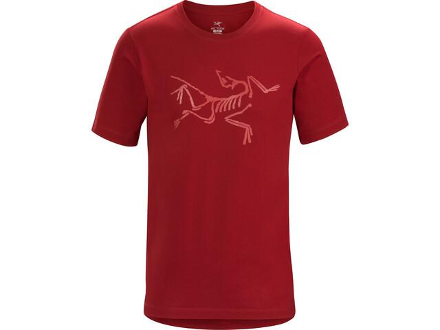 Arc'teryx M's Archaeopteryx SS T-Shirt Red Beach